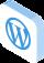 Icône mobile hébergement Wordpress