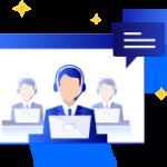 Support client disponible 7/7