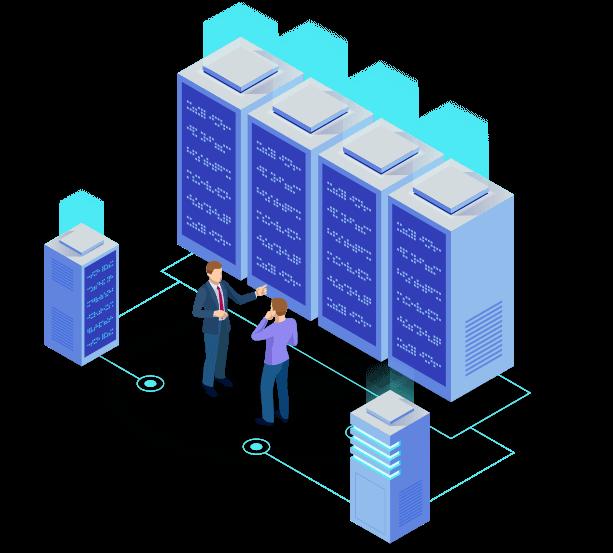 Espace colocation serveur centre data